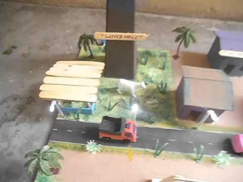 Working Model of  Wind Mill For Exhibition