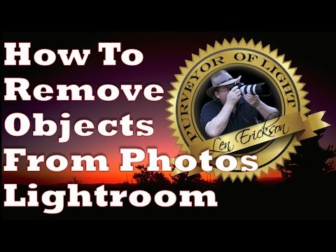How To Remove Objects From Your Photos In Lightroom 5