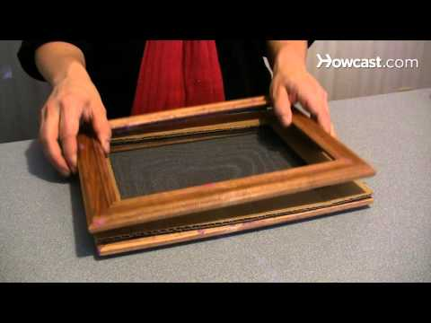 How to Make a Handmade Paper Picture Frame