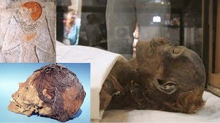 ancient egyptian mummies found with red blonde hair