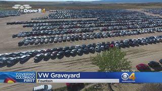 VW Graveyard South Of Colorado Springs