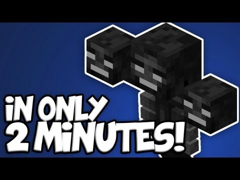 Minecraft: How To Kill The Wither [1.7.2] *QUICKEST WAY*
