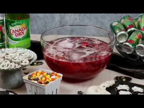 Berry Bloody Halloween Punch Short