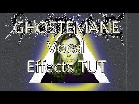 GHOSTEMANE Vocal Effect tutorial