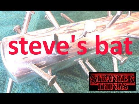 Stranger Things Steve's Bat in Aluminum