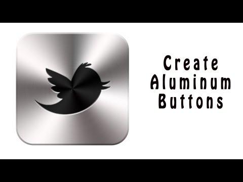 Create Aluminum Style Icons In Photoshop - Photoshop Tutorial