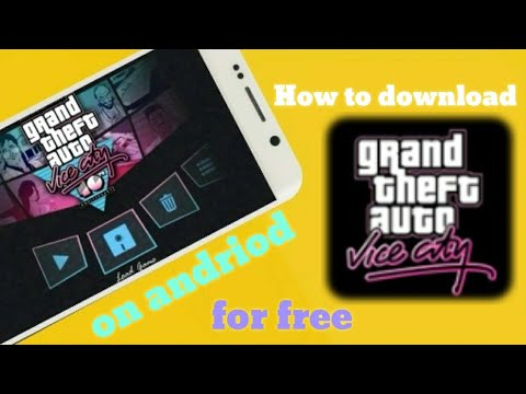 How to download gta vc on your andriod and add cleo mods for free