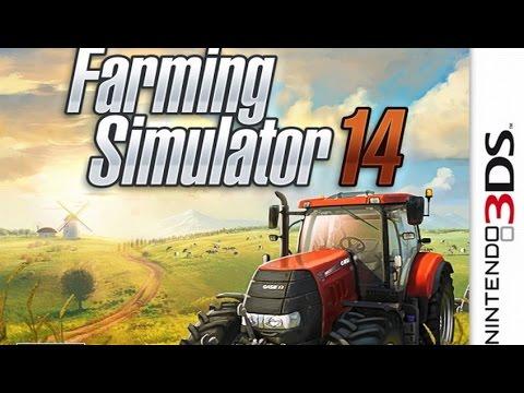 Farming Simulator 14 Gameplay {Nintendo 3DS} {60 FPS} {1080p}