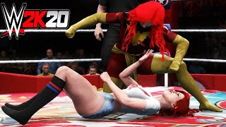 Mary Jane Watson v Jean Grey! - WWE 2K20 Requested Extreme Rules Match