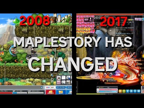 MapleStory has changed!!