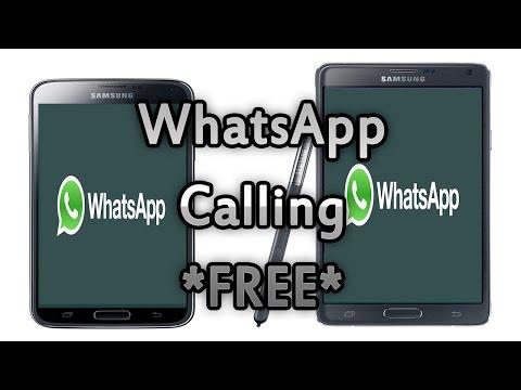 WhatsApp Update : Free Calls!