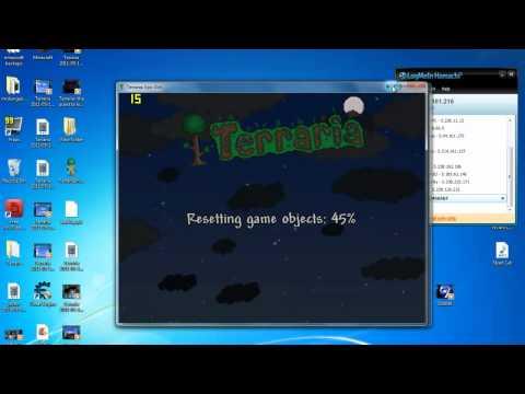 how to make terraria server using hamachi