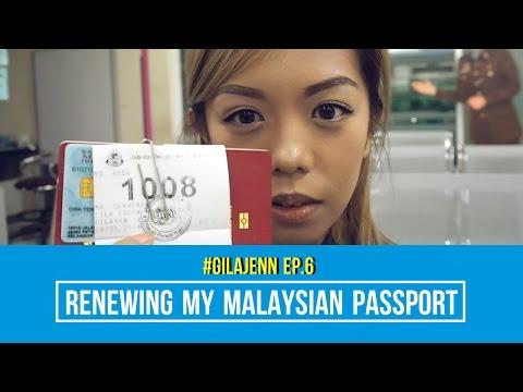 #GilaJenn EP. 6 - Renewing My Malaysian Passport