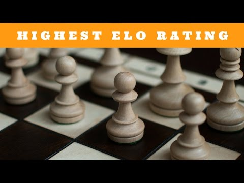 Highest rated chess players of all time