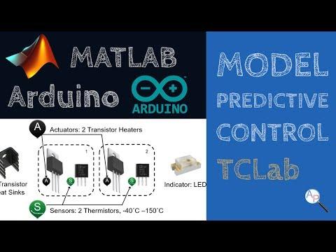 Model Predictive Control with Arduino in MATLAB