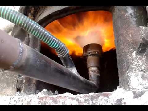 Gasifier for stream boiler for hotel's