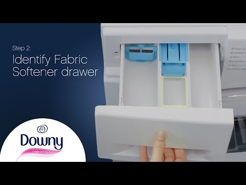 How To Use Fabric Softener - Front Loader | Downy