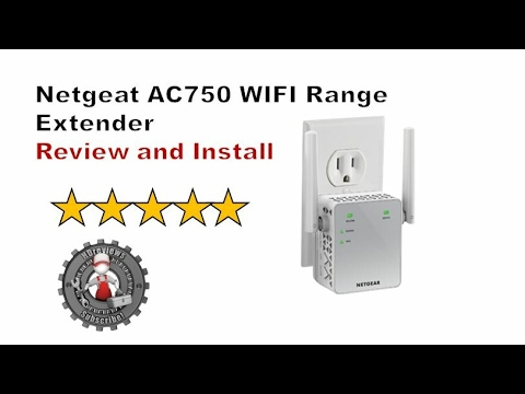 Netgear AC750 Extender/Booster Review and Install