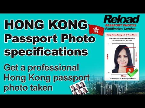Get your Hong Kong Passport Photo and Visa Photo snapped in Paddington, London