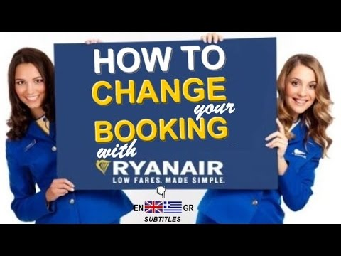 How to CHANGE your FLIGHT with RYANAIR