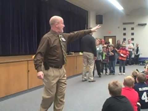 Anti-bullying presentation at Big Rapids Middle School