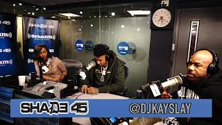 Blueface interview with Dj Kayslay at Shade 45