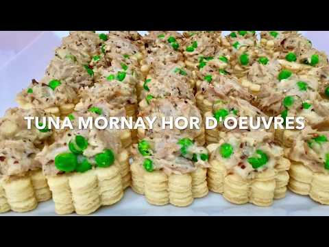 TUNA MORNAY HOR D'OUEVRES **Party Starter**