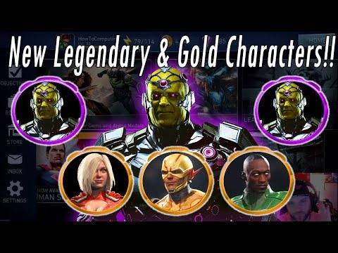 NEW LEGENDARY BRAINIAC! Powergirl, John Stewart, Reverse Flash & Green Arrow Injustice 2 Mobile Hack
