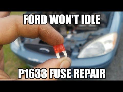 Ford Taurus p1633 Easy Fix