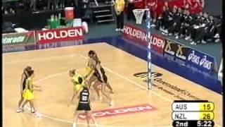 Netball: Diamonds v Silver Ferns Holden Test Series 2006 Test 1
