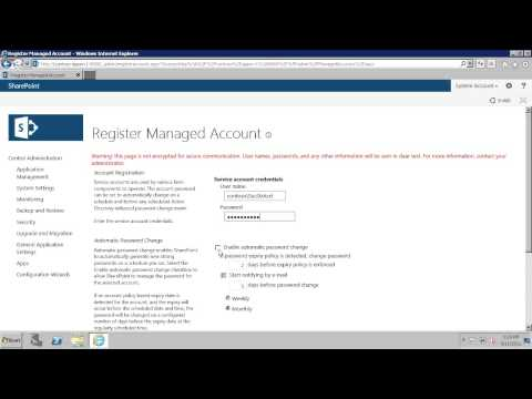 Configure the Secure Store Service in SharePoint 2013