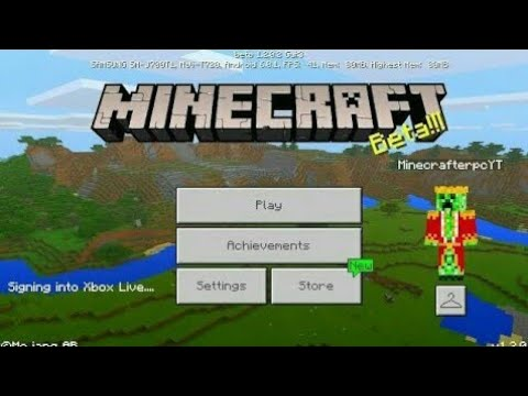 Minecraft PE 1.2 | MCPE 1.2 BETA BUILD 3 RELEASED!! + GAMEPLAY!! (Pocket Edition)