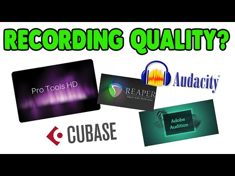Does Recording Quality Differ in Different DAWs? | Comparing WAV Files