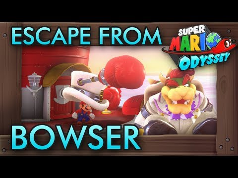 What If You Escape From Bowser in Super Mario Odyssey?