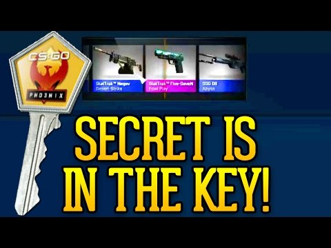 CS GO Case Opening - The Secret Is In The Key