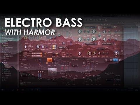 Electro bass with Harmor | FL Studio Tutorial