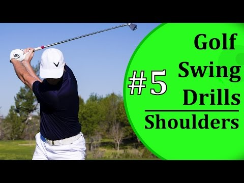 Golf Swing Drills For New Golfers - #5: Shoulder Rotation | Learn-To-Golf.com