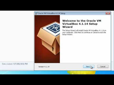 Download and Install VirtualBox in Windows 7