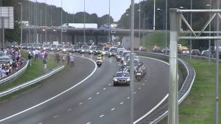 MH17 rouwstoet dag 3 / victims being transported day 3
