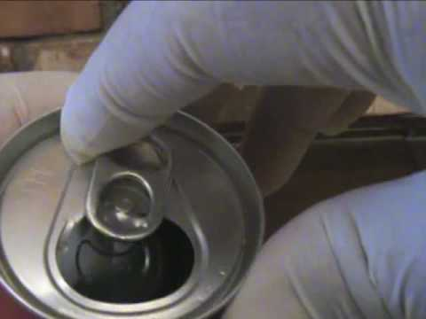 How To Re-Seal An Opened Soda Can!!!!