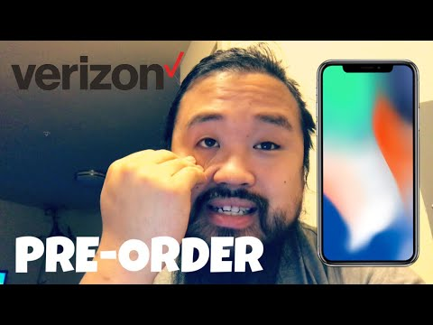 My iPhone X Pre-Order, Thanks Verizon!