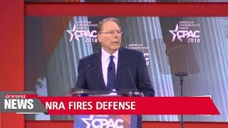 NRA chief accuses Democrats of exploiting Florida shooting for anti-gun agenda