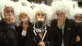 Video: Hundreds of Einstein lookalikes break world record