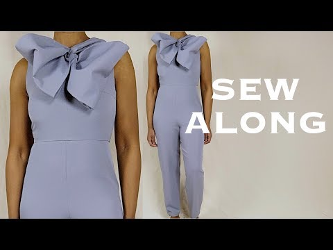 DIY Bow Jumpsuit (Sew Along)