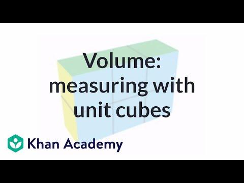 Volume: measuring with unit cubes | Measurement | Pre-Algebra | Khan Academy