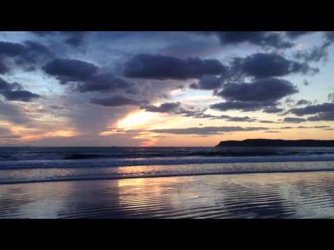 Sunset on Coronado Beach (San Diego)