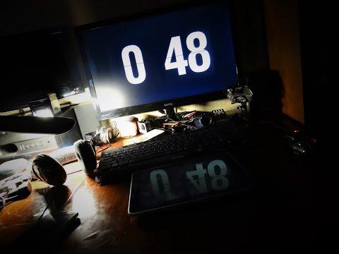 Стильный скринсейвер-часы для PC/Mac [fliqlo the flip clock screensaver]