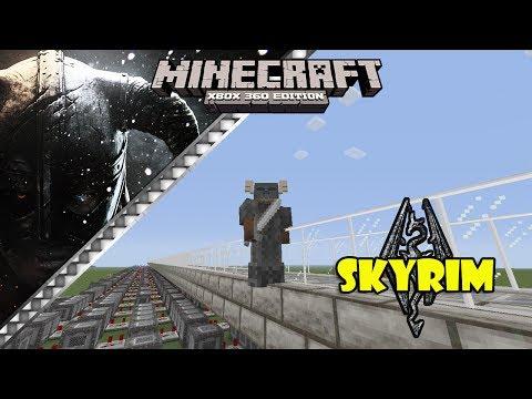 Skyrim Theme Note Block Song (Minecraft Xbox 360)