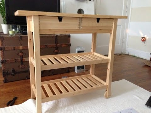 Adorable Kitchen Carts On Wheels Design Ideas