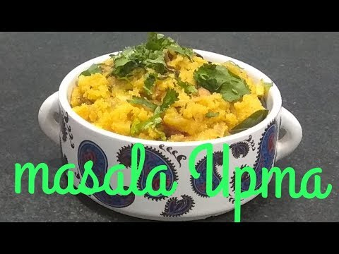 How to make masala Upma